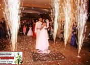Venta de pÓlvora frÍa, neblina densa a piso, pantallas, sonido y todo lo relacionado para bodas
