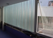 DiseÑo y fabricacion de paredes en vidrio