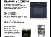 Reparacion de hornos a gas, hornos electricos, hornos industriales c.3003028272