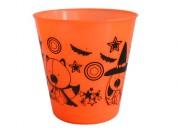 Calabazas baldes plasticos  halloween fabricamos