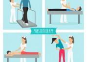 Servicio de terapias fÍsicas a domicilio.