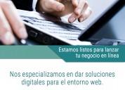 Desarrollo de software o aplicaciones web a medida adaptadas a su negocio