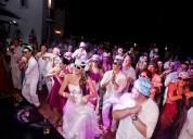 Hora loca, dj, luces, sonido fiestas tematicas chia