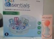 Vendo esterilizador de microondas y extractor vidrio 3115279563