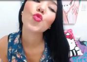 Hermosa, ardiente, sensual modelo webcam para adultos