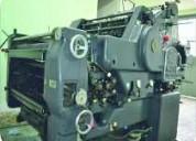 Máquina litográfica heidelberg kord d.