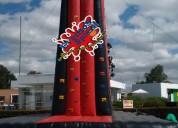 Aquiler de inflables para fiestas torre de escalar saltarines y mas
