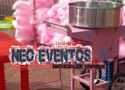 Alquiler maquinas de alimentos para eventos empresariales y publicitarios
