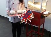 Alquiler fuente de chocolate,maquina de crispetas y mas para eventos y fiestas