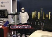 maquinas de alimentos crispetas, algodones y mas para eventos publicitarios