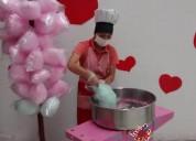 Maquinas de alimento para fiestas infantiles y empresariales