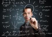 Se hacen asesorias de trabajos de estadistica, algebra lineal, calculo y fisica en bogota