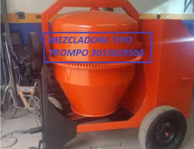 mezcladora para concreto medio bulto 140 litros