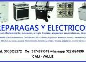 Reparacion de calentadores a gas, calentadores electricos en cali cel.3003028272