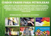 Capacitaciones para petroleras manejo defensivo sustancias peligrosas