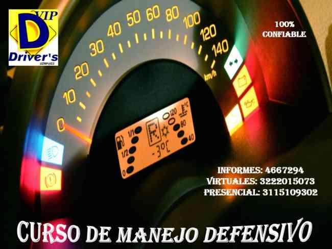 SERVICIOS PARA LA CAPACITACIÓN EN CURSOS DE MANEJO DEFENSIVO