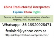 Traductor guia interprete chino en beijing