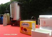 Estaciones de cafe y refrigerios empresariales