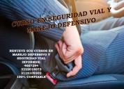 Curso virtual manejo defensivo y seguridad vial