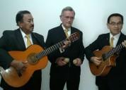 Serenatas de amor, trio kairos, musica de cuerda en vivo