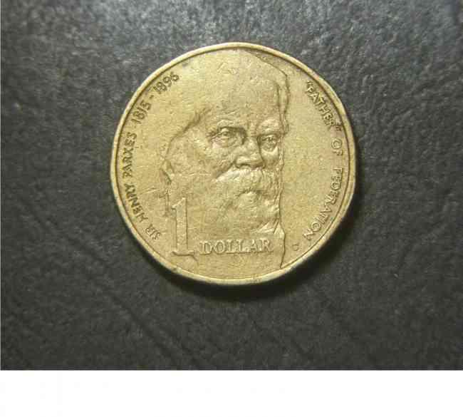 vendo moneda Australia: 1996 $1 Sir Henry Parkes