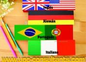 Traducimos cualquier texto o documento oficial o tÉcnico!! en 8 idiomas!!!