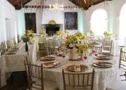 Banquetes y recepciones o.c.r eventos