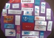 Placas metalicas, pines manillas marquillas avisos cintas portacarnets carnetizacion personalizada p