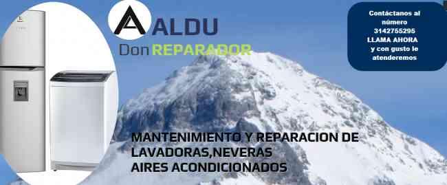 Reparación  Neveras Lavadoras Aires acondicionados
