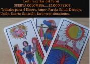 Lectura cartas del tarot