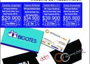 1000 tarjetas de presentacion $35.000 domicilio gratis