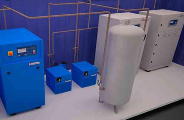 fabricacion de plantas generadoras de nitrogeno