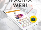 Pagina web + logo + chat online + catalogo digital