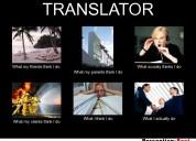 Traductores profesionales e interprétes