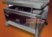 Mesa vibradora de cacao,mesa atemperadora