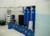 Venta de plantas potabilizadoras de agua de microfiltracion