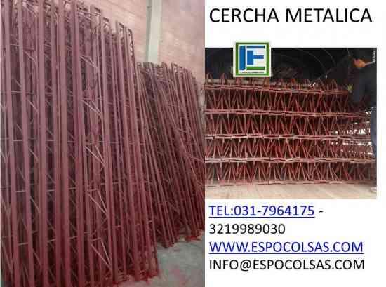 PARAL METALICO Y CERCHA METALICO PARA CONSTRUCCION