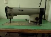 Linda maquina plana industrial de coser excelente estado propongan
