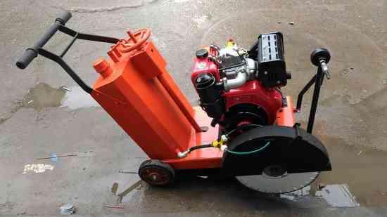 cortadora de pavimento