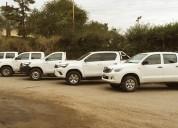 Alquiler, contratos para camioneta 4x4