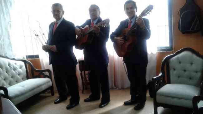 SERENATA BOGOTA, TRIO FASCINACION, MUSICA DE CUERDA EN VIVO, BOLEROS, TANGOS, BALADAS Y MAS