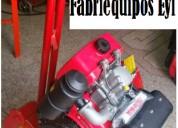 Rana compÁctadora con motor diesel