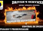 Curso de control de incendios