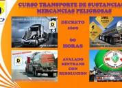 Capacitacion transporte de sustancias peligrosas decreto 1609