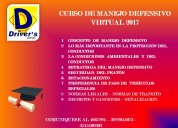 Curso de manejo defensivo certificado