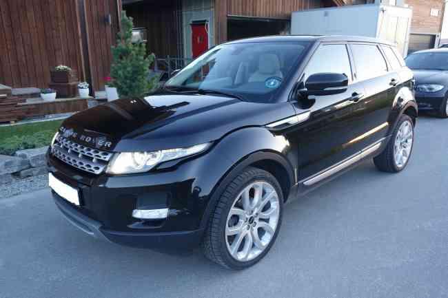 Land Rover Range Rover Evoque,
