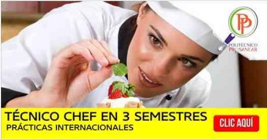 Tecnica en Gastronomia
