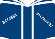 Correctora de redacciÓn, gramÁtica y estilo, ofrece sus servicio 3-47-49-63
