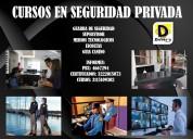 Cursos en vigilancia privada y seguridad