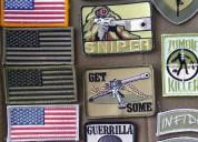 Parches velcro airsoft militar bandera usa adornos envio a toda colombia 3005699844 whatsapp